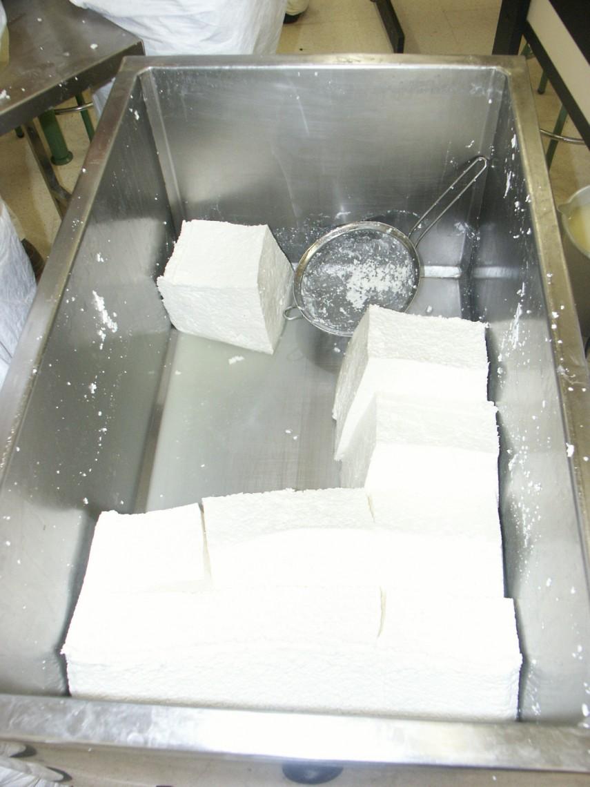 Elaboración de queso 4