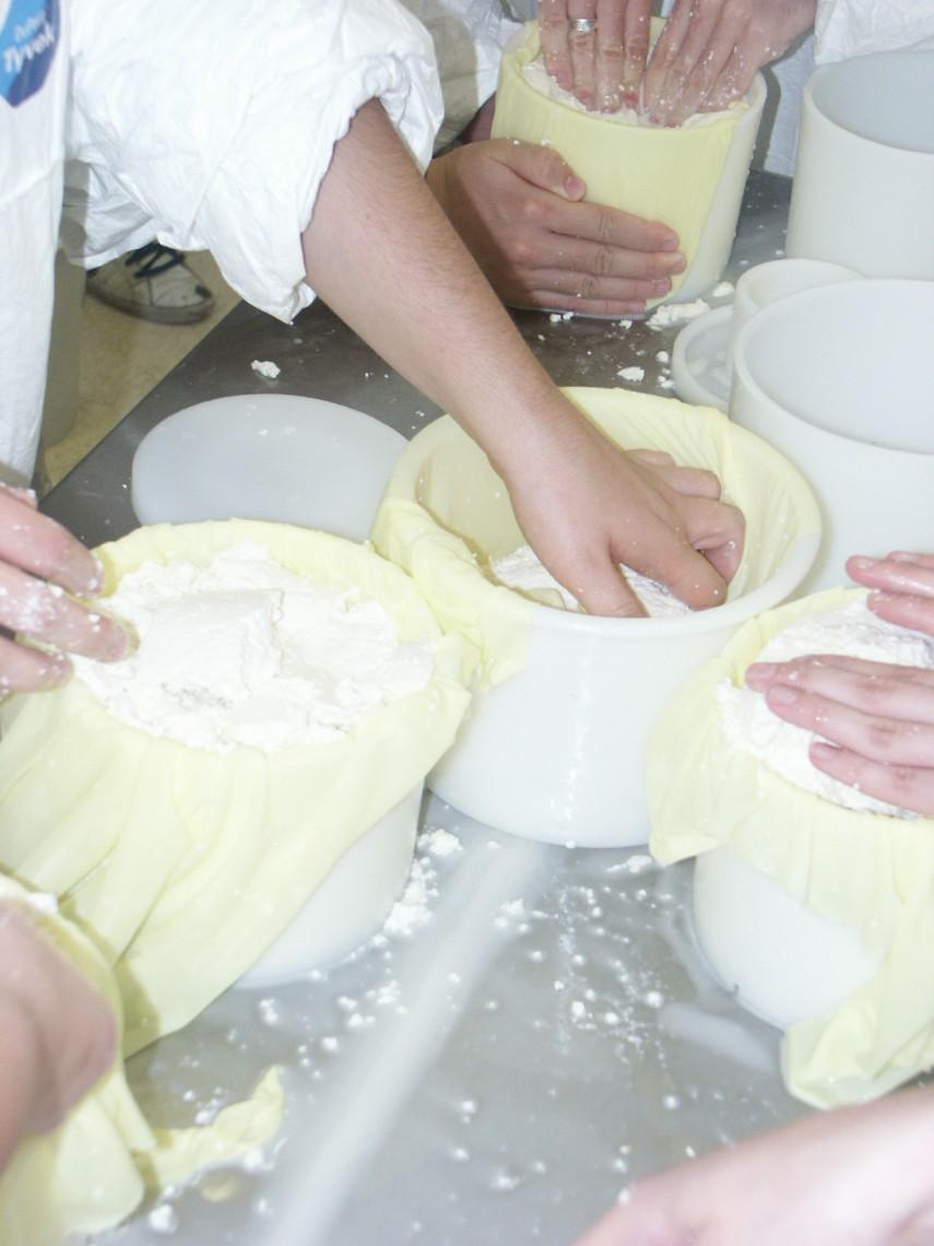 Elaboración de queso 6