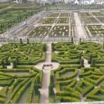 Foto del Jardín del Castillo desde arriba