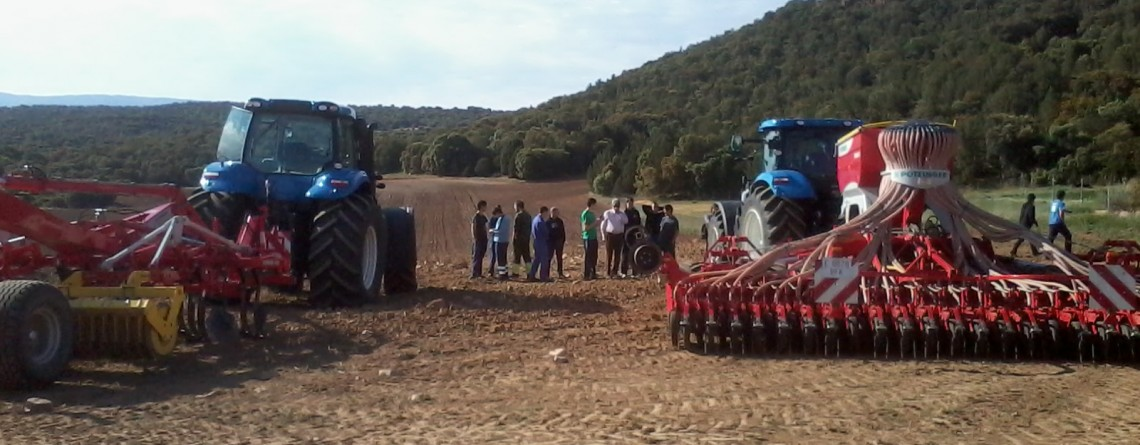 Seminario New Holland (Segovia)