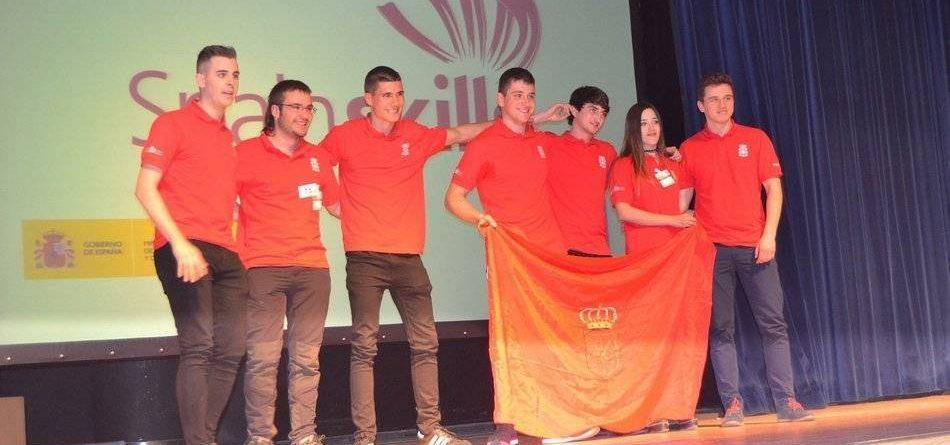 Alumna del CI Agroforestal ganadora de una medalla de oro en la «Olimpiada» de FP Spainskills 2017